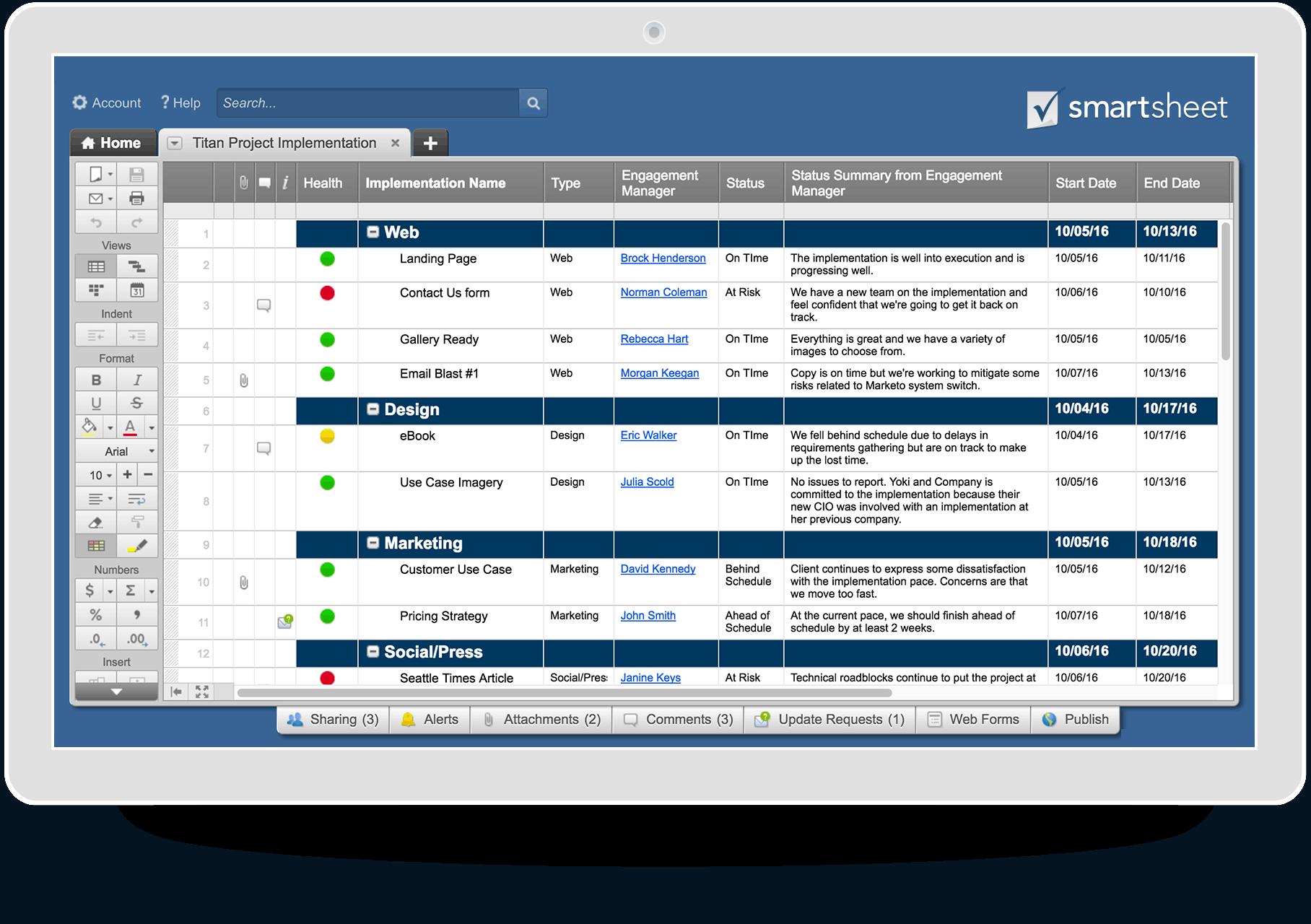 Project management solutions smartsheet previous next xflitez Images