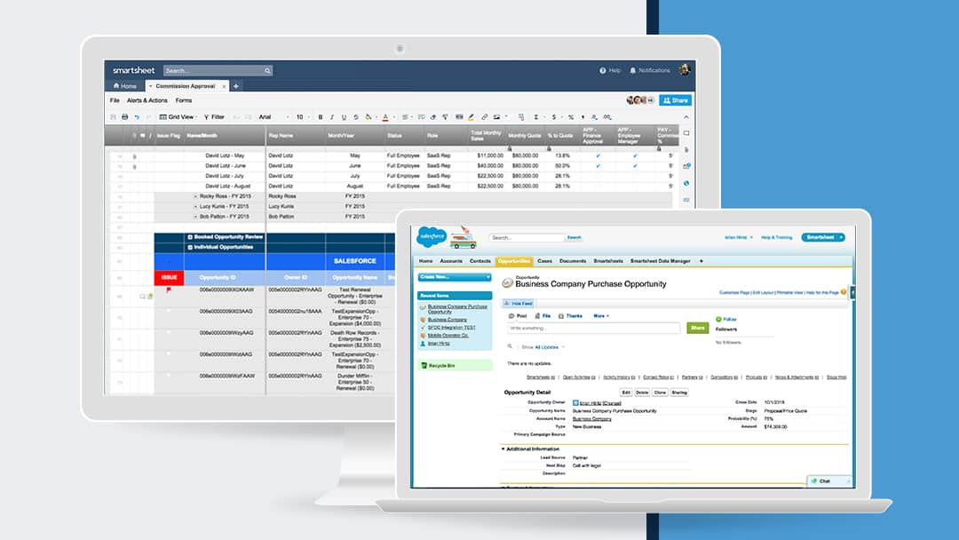 Smartsheet for Service Cloud Connector
