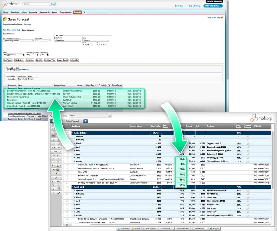 Increase productivity of your sales pipeline with smartsheet for salesforce