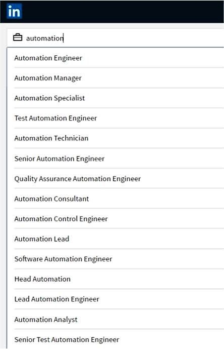 this article uses the term tester to refer to the person involved in testing software with automation tools it is not meant to distinguish by job title