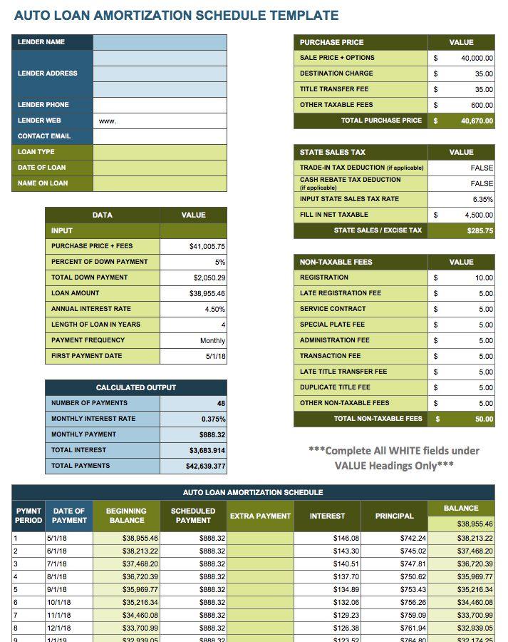 12 Free Payment Templates | Smartsheet