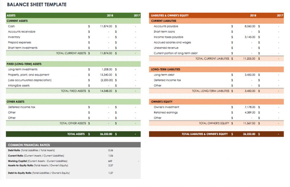 Free Cash Flow Statement Templates – Business Statement Template