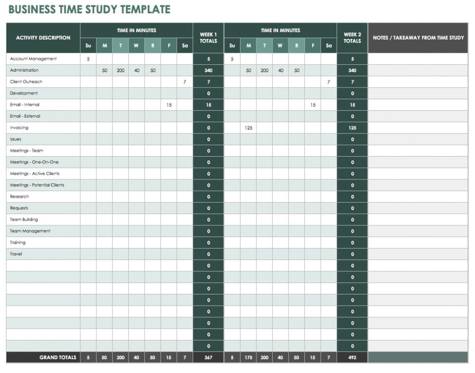 Time Study Template Time Log Template Download Documents In Pdf