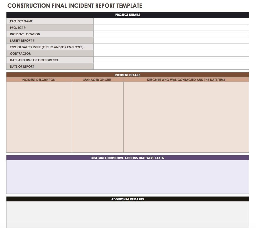 Construction Daily Reports Templates or SoftwareSmartsheet