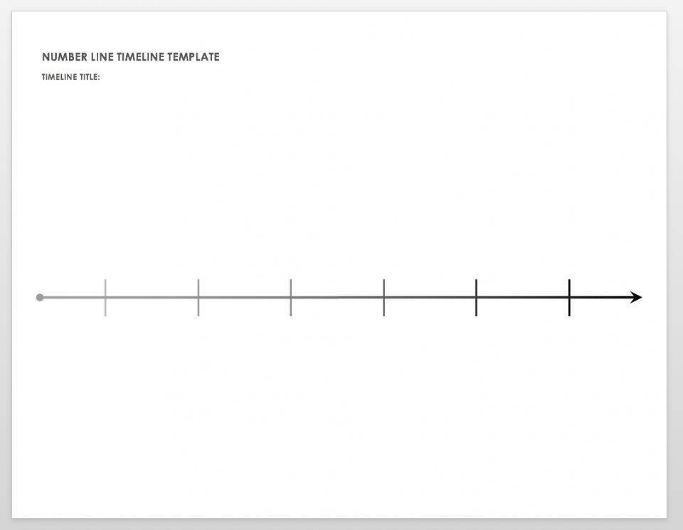 This is an image of Zany Printable Timeline Pdf