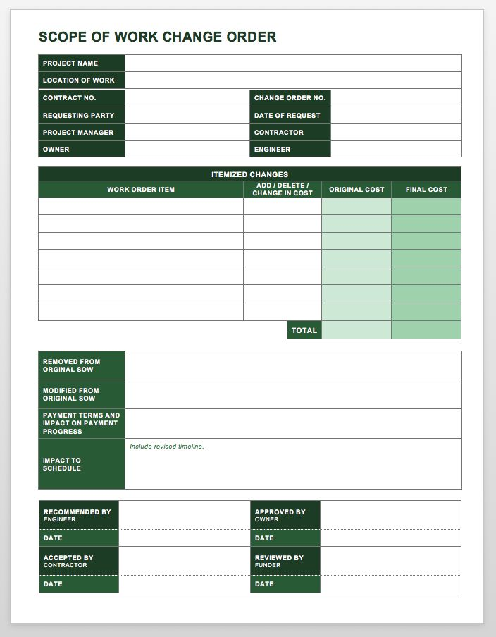 template service request excel choice image templates work order