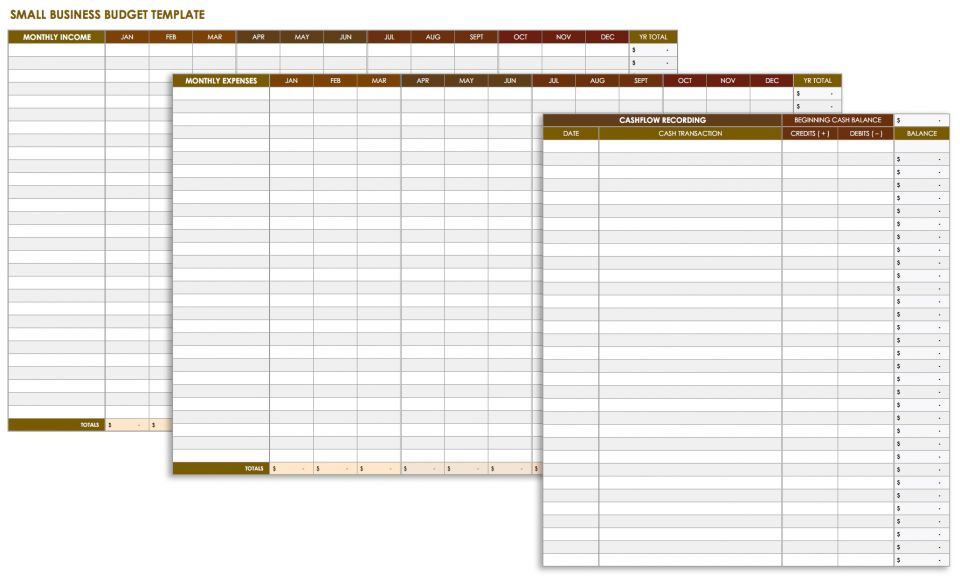 Daily Expenses Template Excel