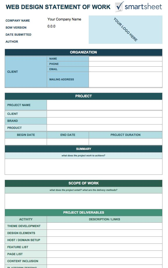 free scope of work template koni polycode co
