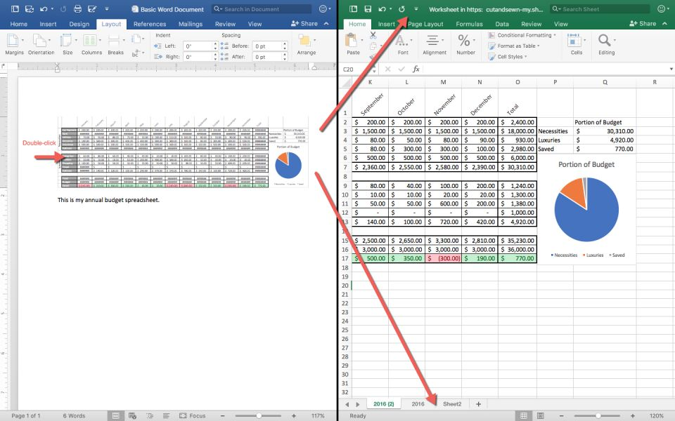 excel multiple users in same spreadsheet
