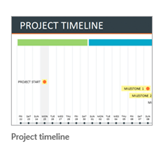 How To Make An Excel Timeline Template - Yearly timeline template excel