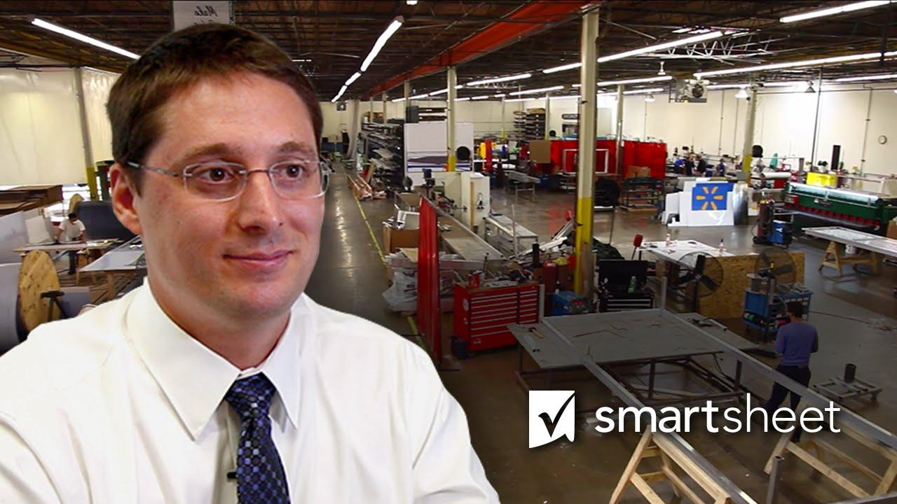 Manufacturing Company Seamlessly Runs Operations with Smartsheet