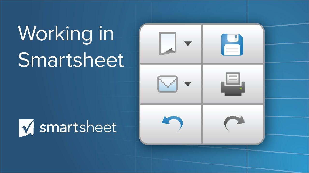 Working in Smartsheet