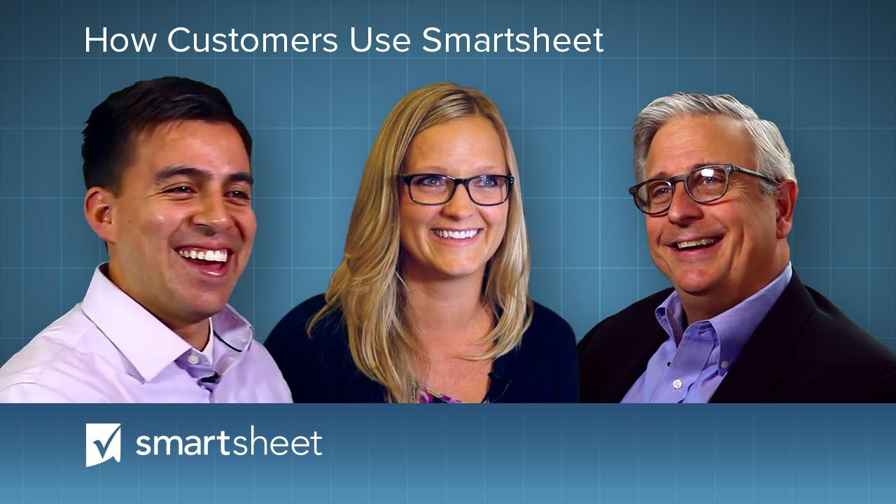 How Customers Use Smartsheet