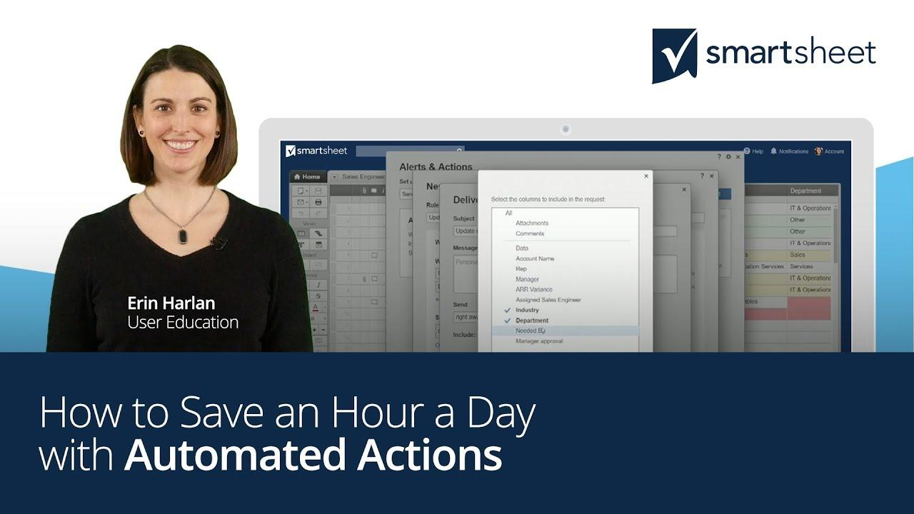 Save an Hour a Day with Automated Actions