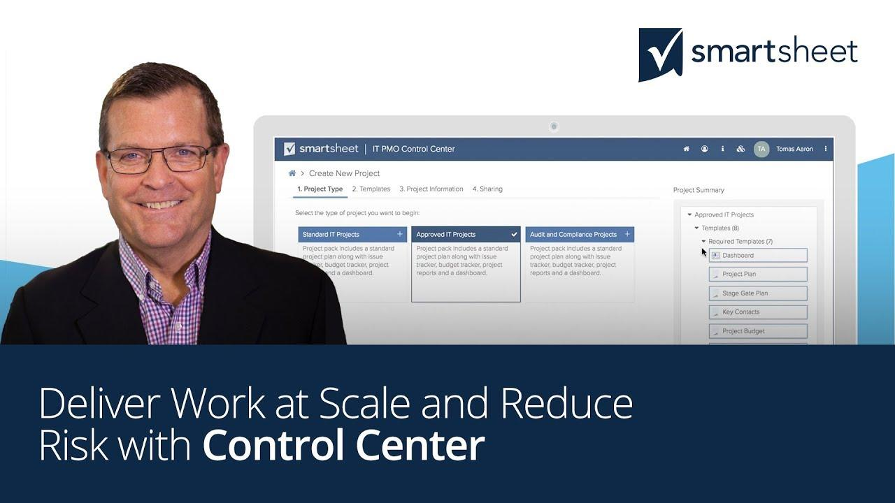 Deliver Work at Scale and Reduce Risk with Control Center