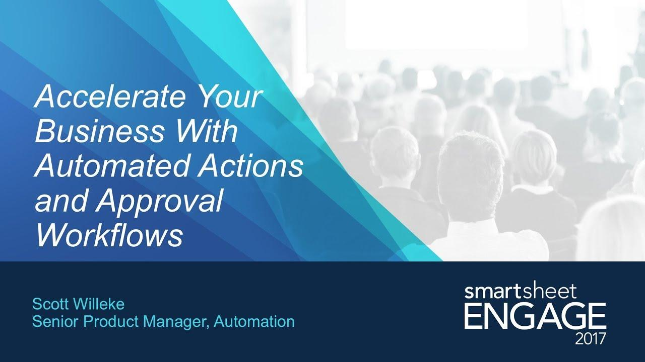 Accelerate Your Business With Automated Actions and Approval Workflows