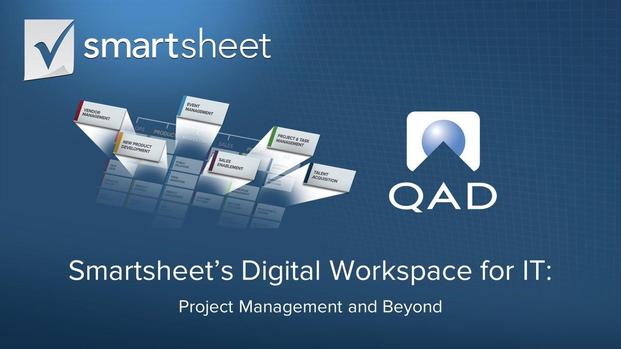 Smartsheet's Digital Workspace for IT  Project Management and Beyond