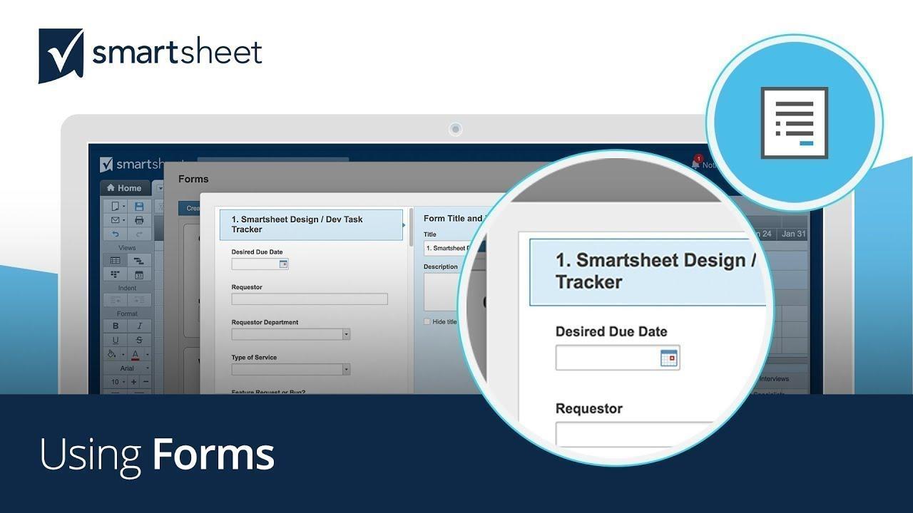 Using Forms in Smartsheet