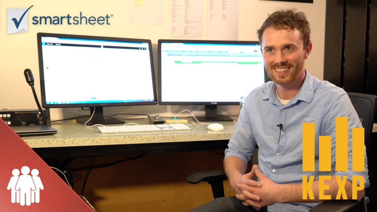 How KEXP Uses Smartsheet to Automate Workflows