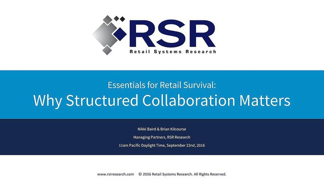 Essentials for Retail Survival: Why Structured Collaboration Matters
