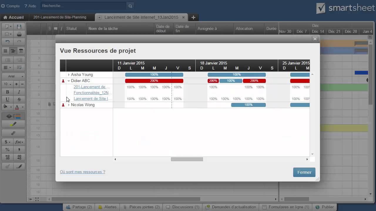 Smartsheet webinar 301 : Meilleures pratiques pour l'équipe et l'entreprise