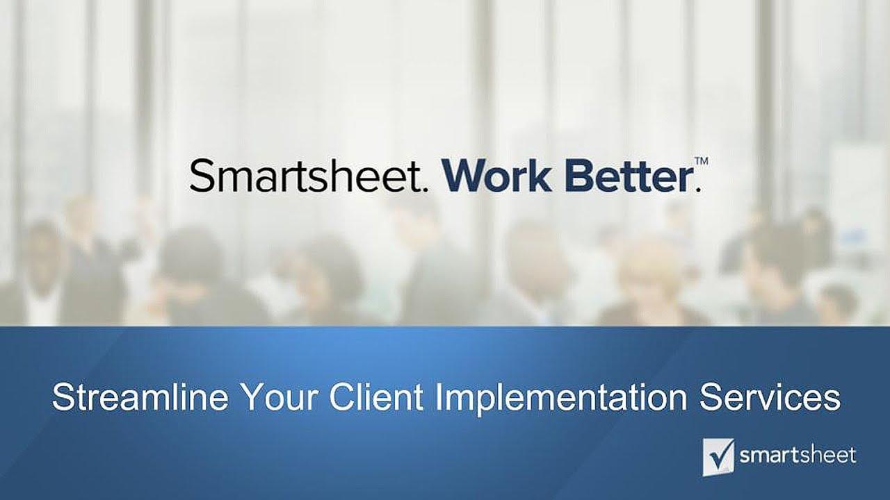Streamline Your Client Implementation Services