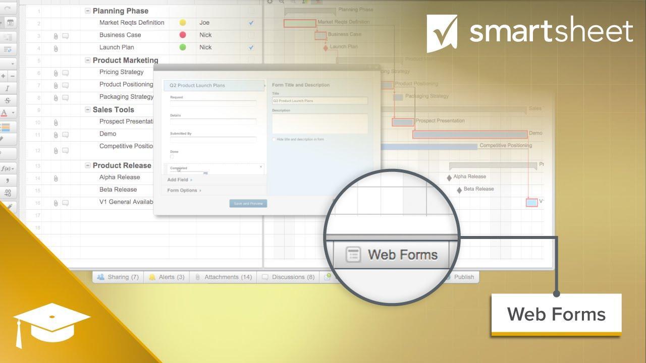 Using Web Forms in Smartsheet