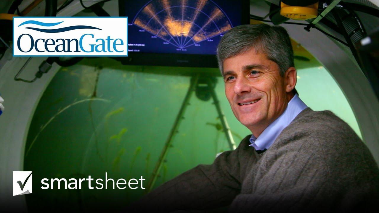 Revolutionizing Deep-Sea Exploration with Smartsheet