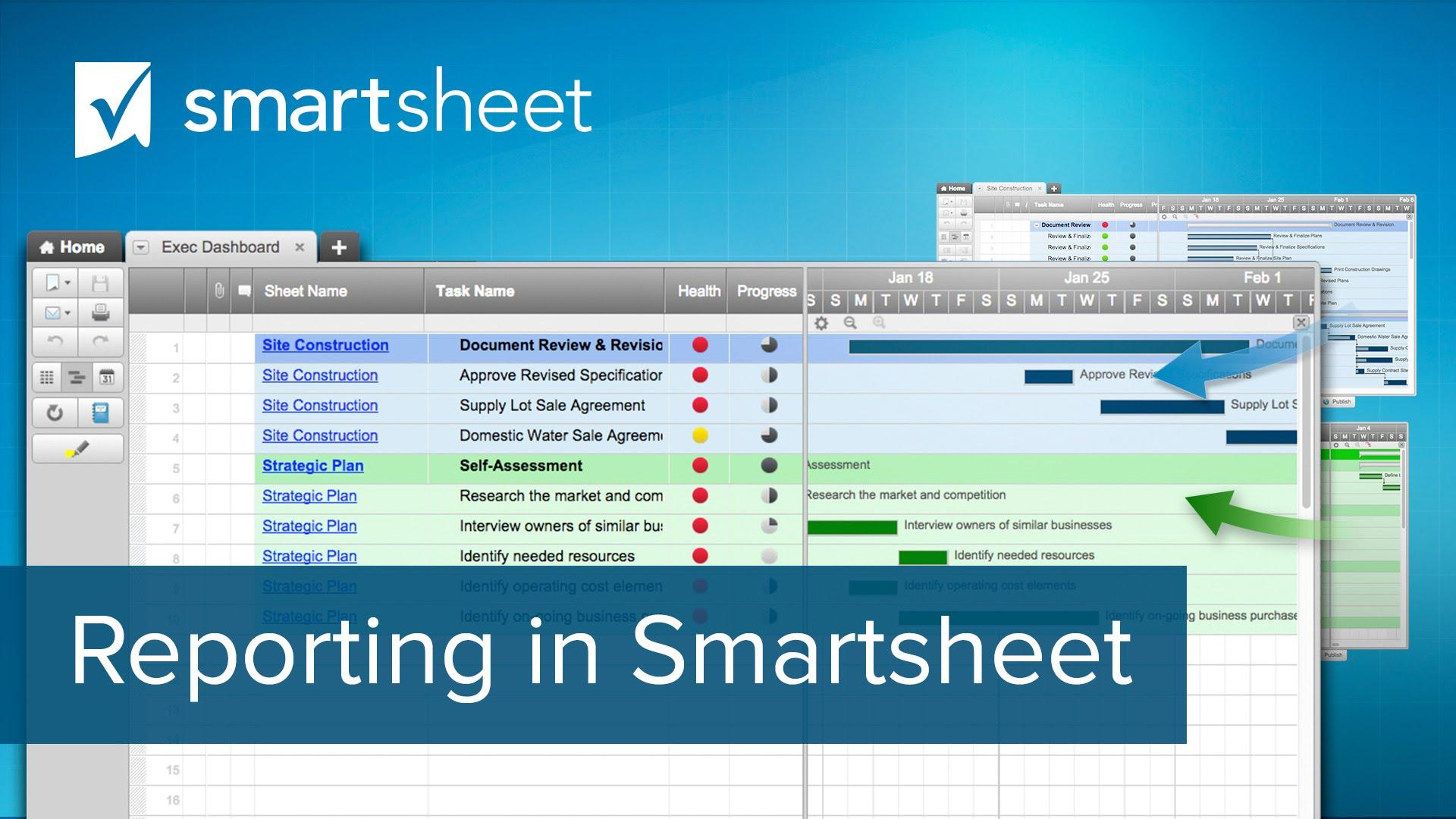 Reporting in Smartsheet