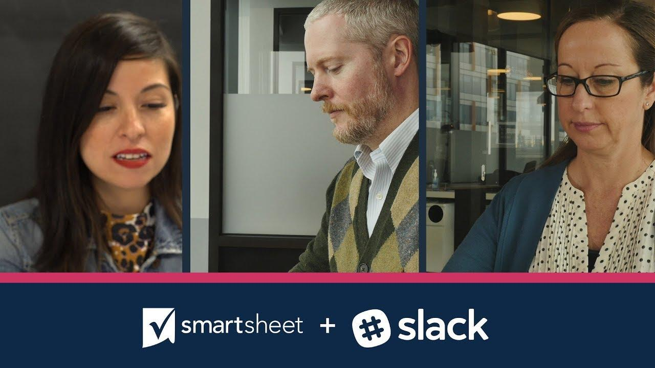 Smartsheet for Slack: Bring Your Team Communication Together