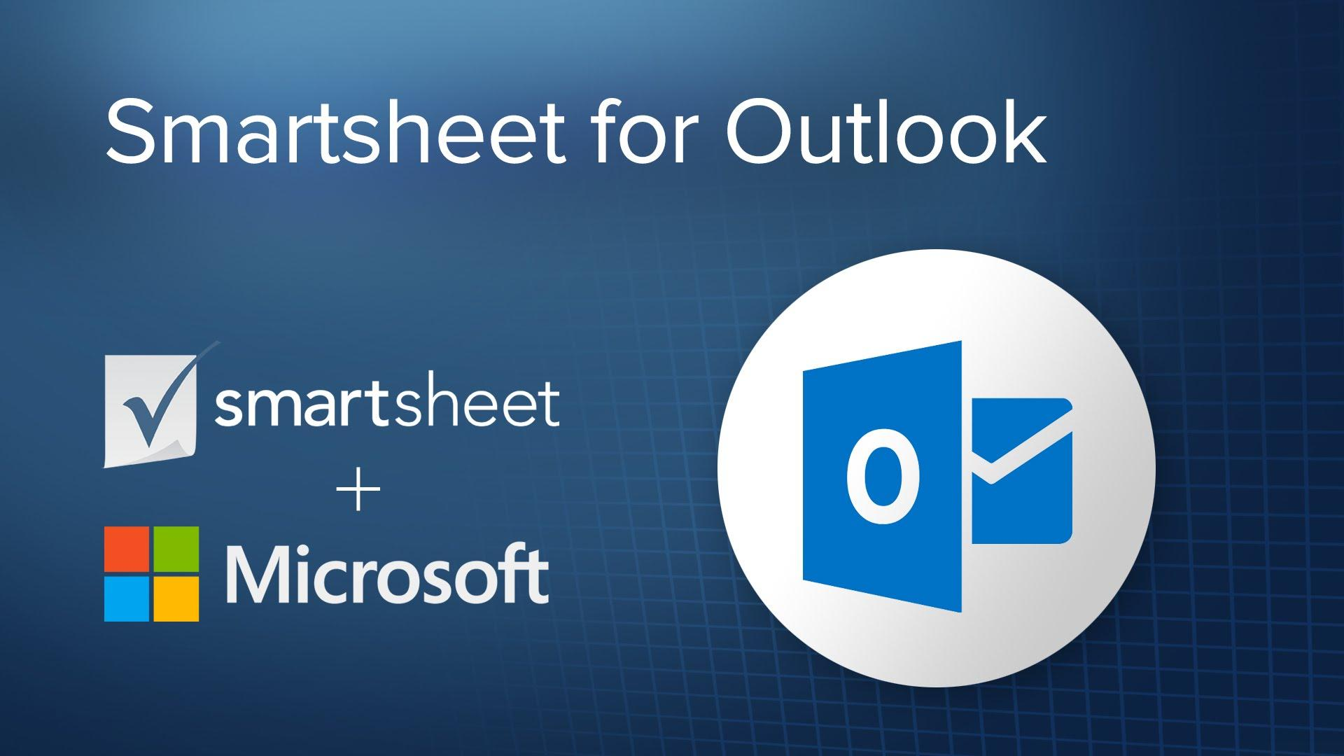 Smartsheet for Outlook