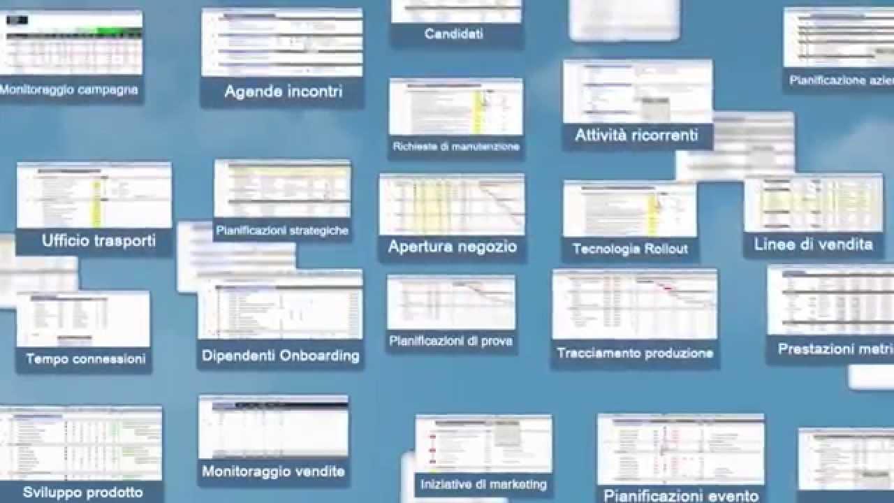 Panoramica di Smartsheet