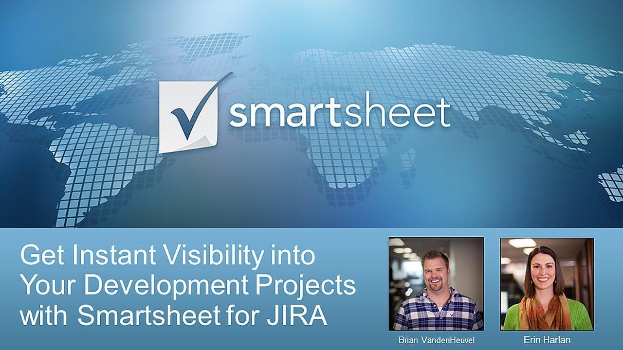 Smartsheet for JIRA Integration