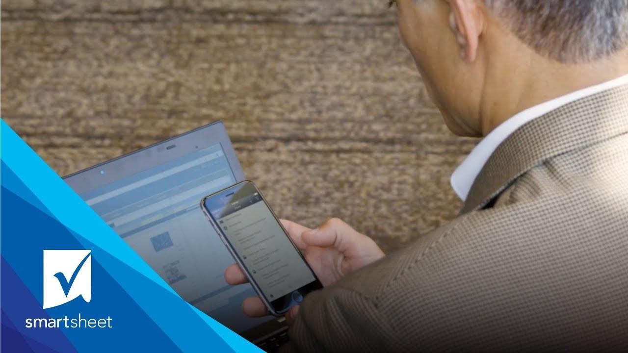 Keep Work Moving with Smartsheet Mobile