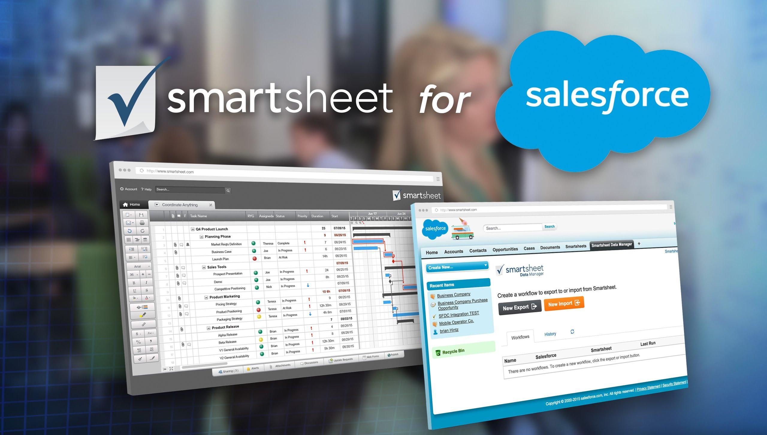 Smartsheet for Salesforce