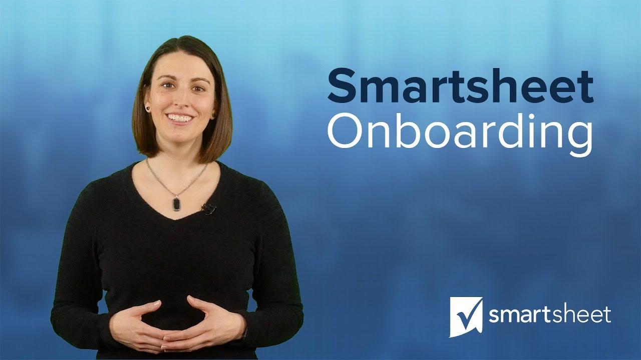 Smartsheet Onboarding