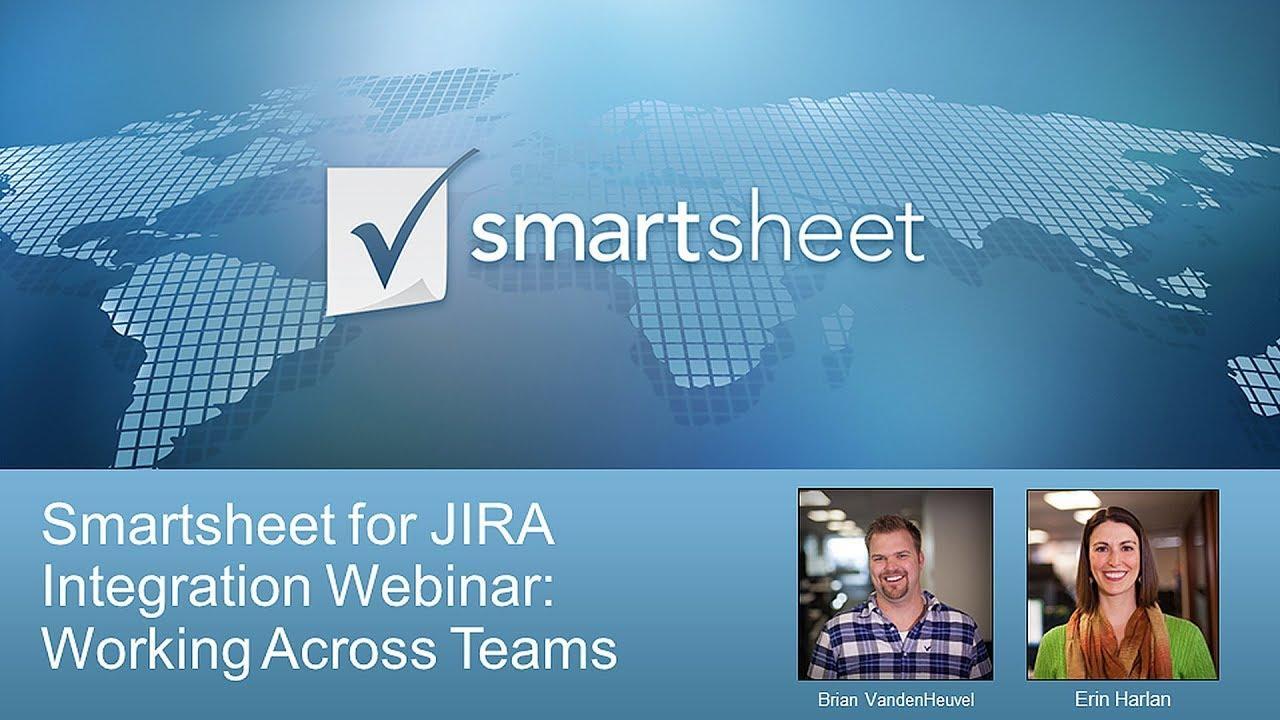 Use Smartsheet for JIRA to Work Across Teams