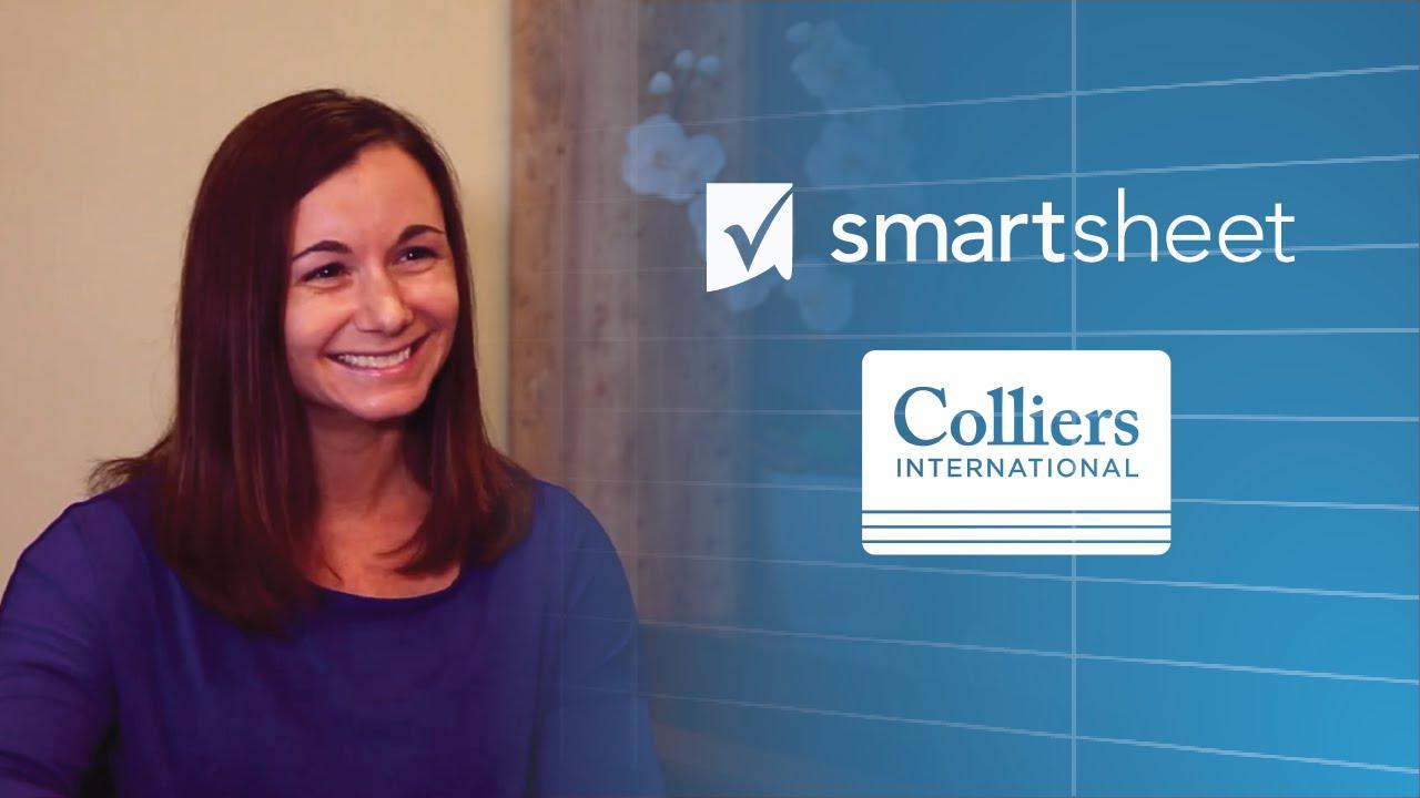 Smartsheet Helps Colliers Win and Grow Business