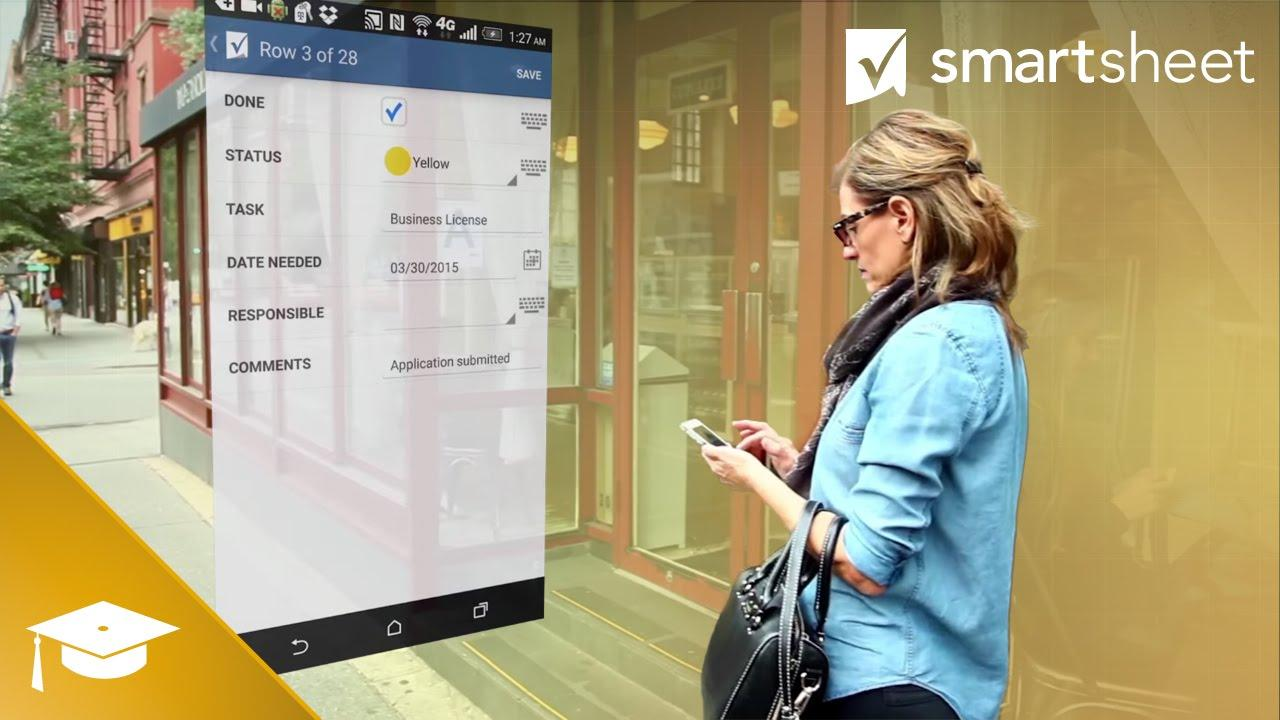 Stay Connected to Your Work with Smartsheet Mobile