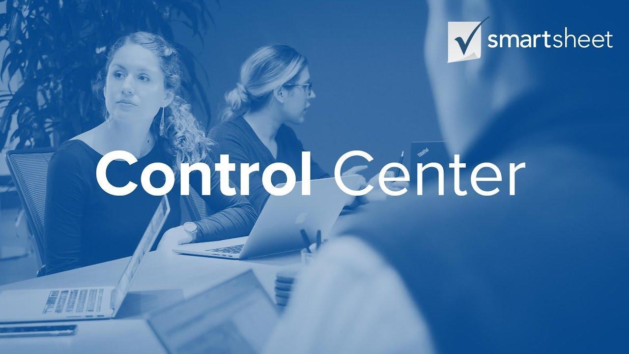 Deliver Project & Process Consistency with Smartsheet Control Center.