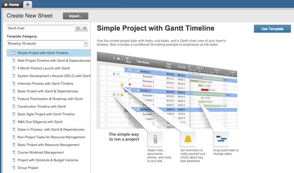 Excel Project Timeline Template Gantt