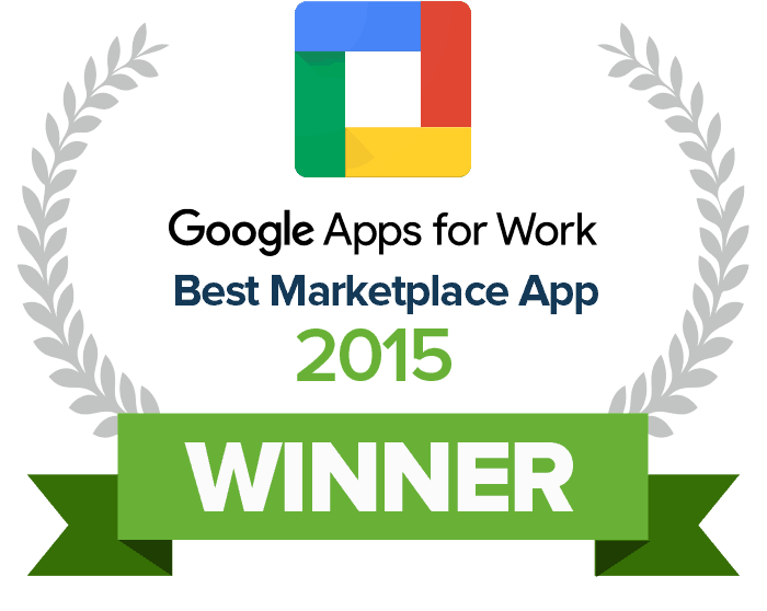 2015 Winner Google Marketplace App of the Year